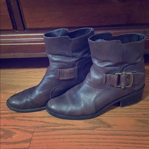 Nine West Brown Boots. Size 9